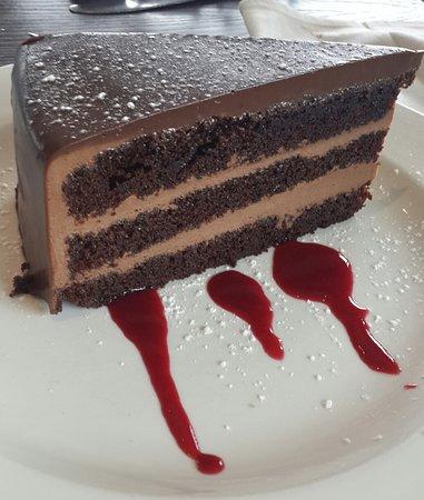Shaka's Rock, Южная Африка: Chocolate Mousse Cake
