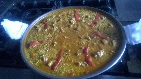 Roldan, Hiszpania: Cocina típica mediterránea y española.