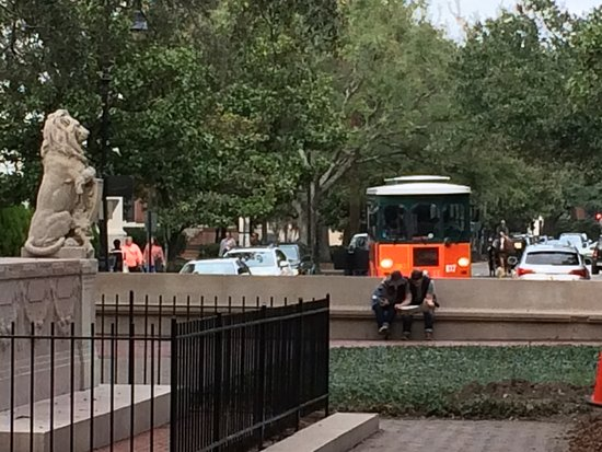 Chippewa Square: Where Forest Gump bench was located in the movie