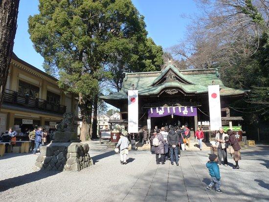 Kunitachi, Japan: 谷保天神