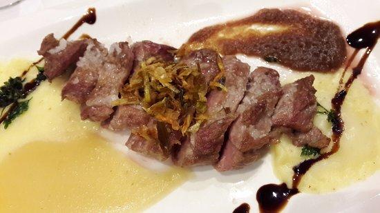 Restaurante Izkina: Iberico pork