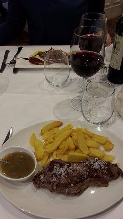 Restaurante Izkina: beef steak
