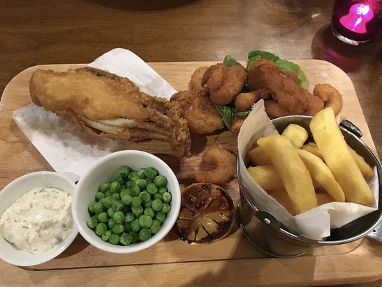 Long Eaton, UK: Ultimate Fish and Chips - £10.99