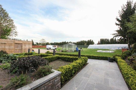 Dilsen-Stokkem, Bélgica: aanblik tuin
