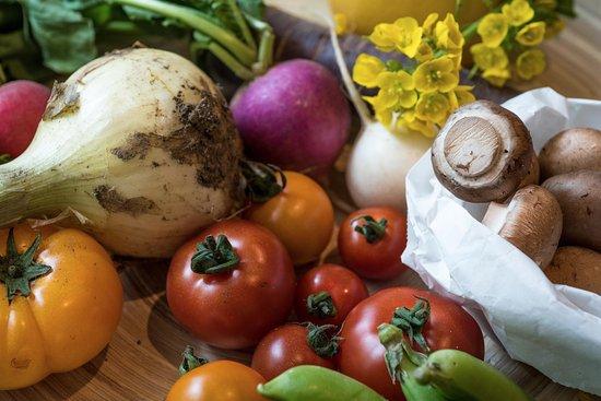 Kojimachi Cafe: Fresh Vegetables Straight from the Farm