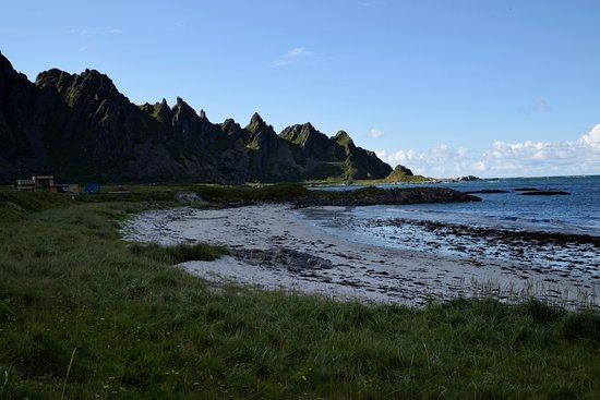 Andoya, Norwegia: imboccando la fv976