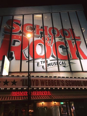 New London Theatre Januar 2017 Picture Of School Of Rock The