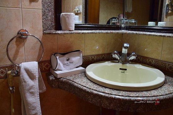 Lytton Hotel: bathroom kit