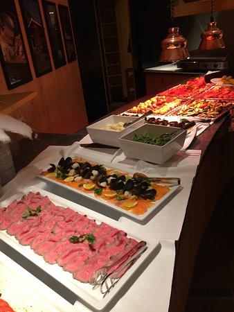 Terento, Italia: buffet
