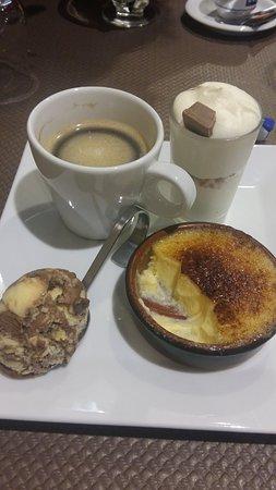 Sedan, Francia: café gourmand