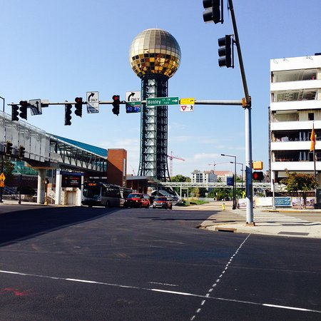 Sunsphere Tower in Knoxville, TN