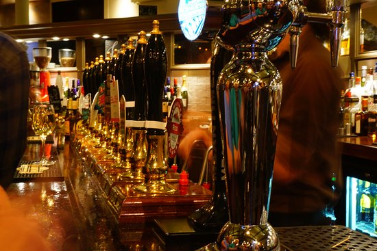 Lancaster, UK: 14 ales on hand pull