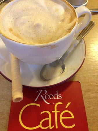 Downham Market, UK: Lovely cappuccinos..