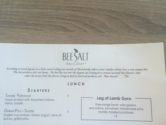 Del Mar, CA: Why the name Beesalt?