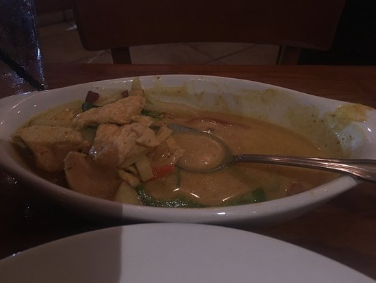 Fresh authentic Thai food