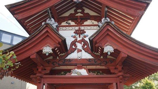 Seiganji Temple : 誓願寺・山門・部分。