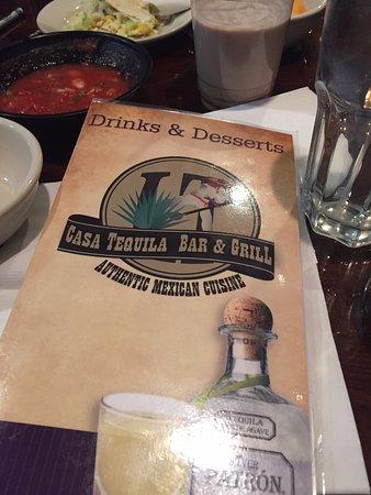 ลอร์ตัน, เวอร์จิเนีย: Super Nice Mexican restaurant! Notice the Salsa! YUM!!