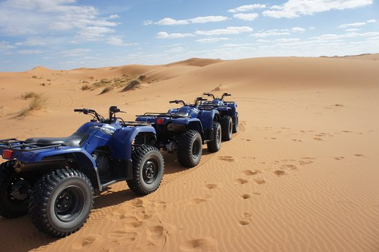 Sahara ATVs: quad biking