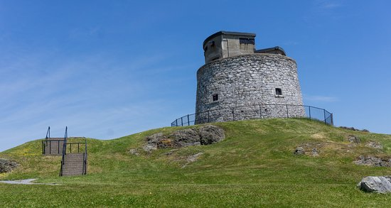 Carleton Martello Tower: La tour Carleton -