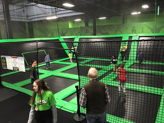 Watertown, MA: Indoor bouncing.