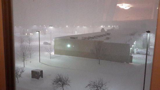 Evans Mills, NY: Le soir de la tempête
