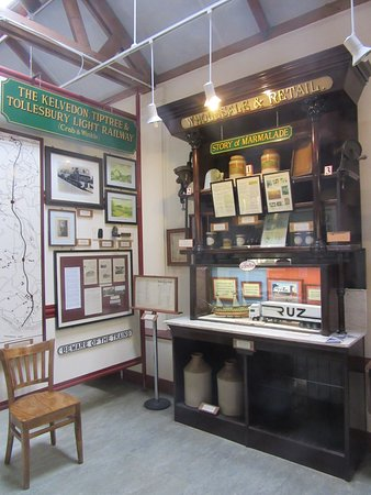 Essex, UK: A display in the museum