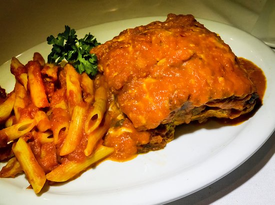 Eggplant Parmesan - Picture of Kitchen Consigliere Cafe ...