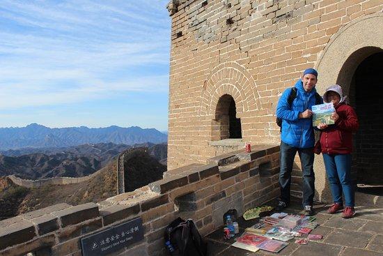 Luanping County, China: vendeuse mongole