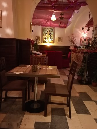 Hradec Kralove, Tjeckien: The Royal Maharaja Oriental Indian Restaurant