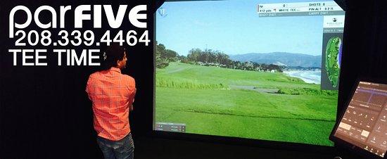 ParFive Indoor Golf: Parfive Indoor HD Golf Suite... As realistic as it gets!