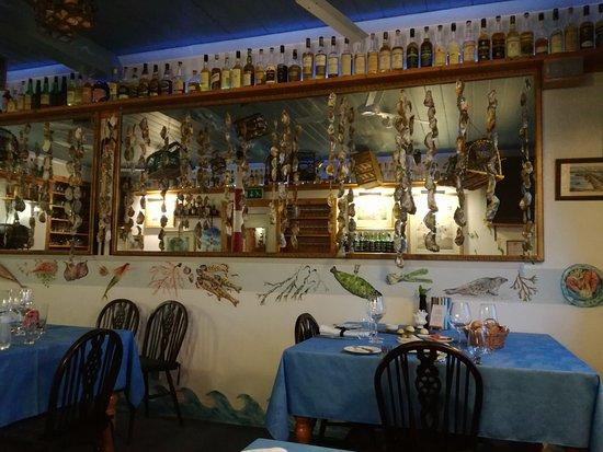 Portmahomack, UK: La sala ristorante