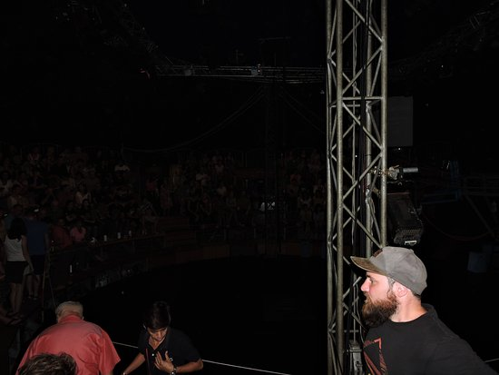 Phare The Cambodian Circus Inside the Circus tent its mostly dark  sc 1 st  TripAdvisor & Inside the Circus tent its mostly dark - Picture of Phare The ...