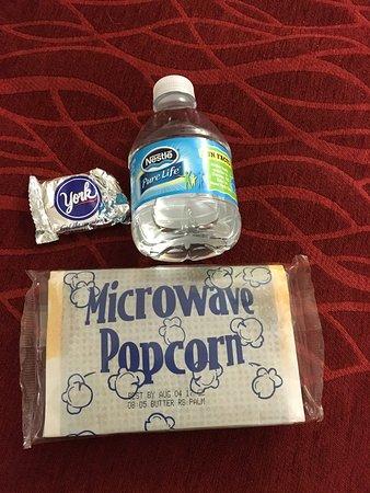 Comfort Inn: Our fabulous welcome gift bag