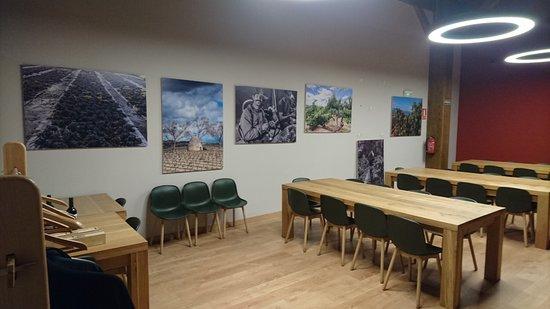 Cenicero, Hiszpania: Zona de exposición