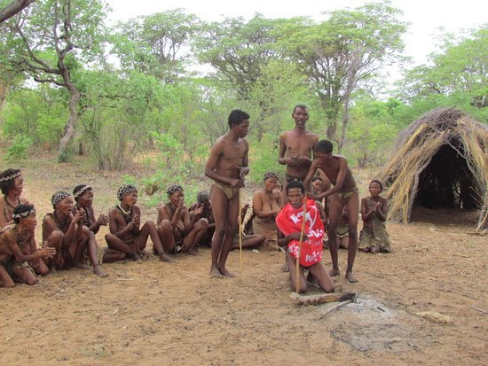 Tsumkwe, Namibia: Bushmancamp