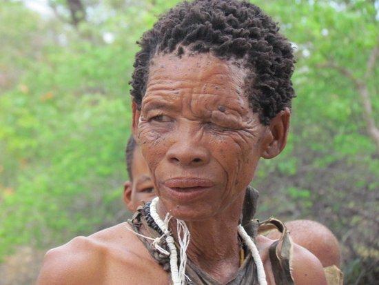 Tsumkwe, Namibia: Bushwoman
