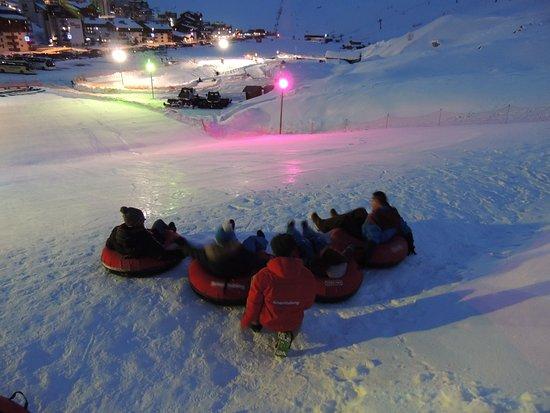 Snowtubing Tignes