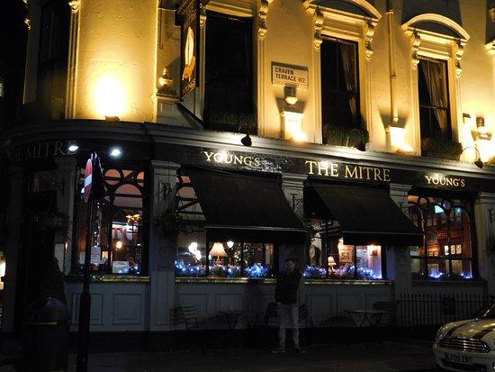The Mitre in Lancaster Gate: le pub