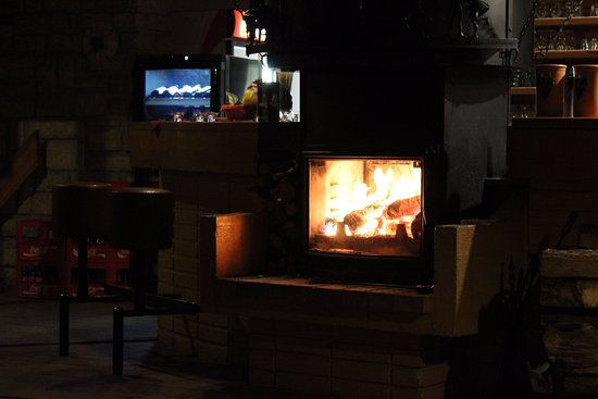 Roznov pod Radhostem, Repubblica Ceca: Fireplace