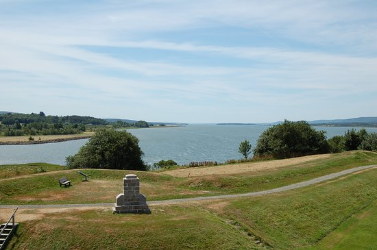 Fort Anne National Historic Site: Meeresblick