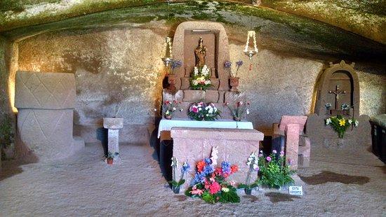 Artenara, Spania: Chapel inside