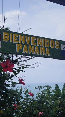 La Miel, Panama: frontera colombia-panama