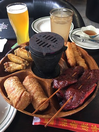 Port Saint Lucie, FL: Absolutely delicious...., can you believe this PuPu platter is $12.95 for 1?