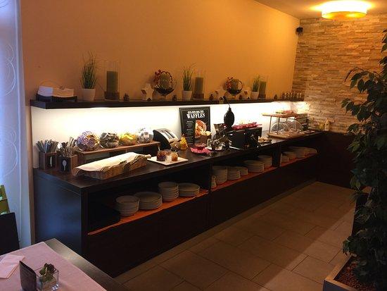 Ahotel Hotel Ljubljana: Great Breakfast Buffet