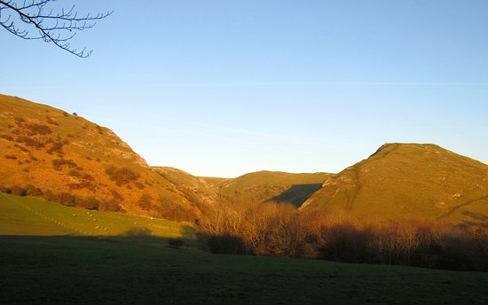Ilam, UK: From the garden