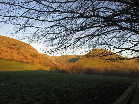 Ilam, UK: From the car park