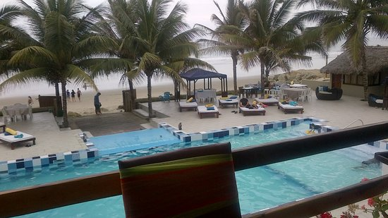 San Clemente, Ecuador: View from dining room