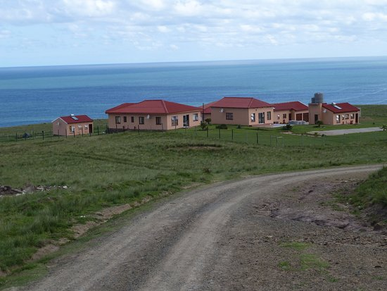 Willowvale, Sudáfrica: View of Dwesa River Mouth Lodge