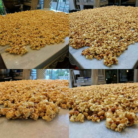 Some of our homemade corns ready to be bagged.