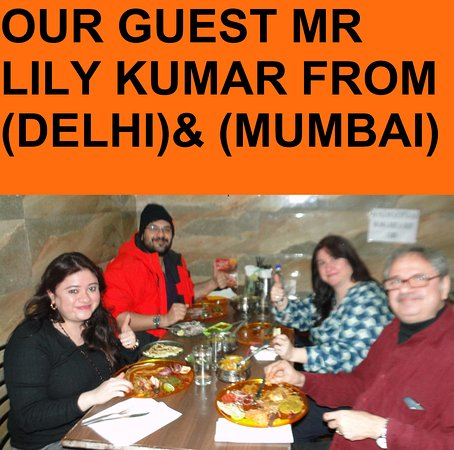 OUR GUEST FROM (DELHI)(MUMBAI)